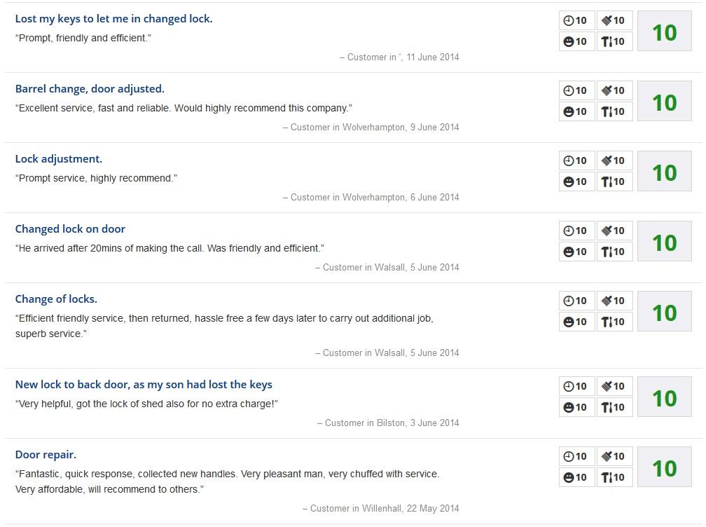 locksmith reviews websites
