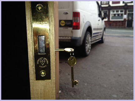 supply and fitment of all locks in Cannock